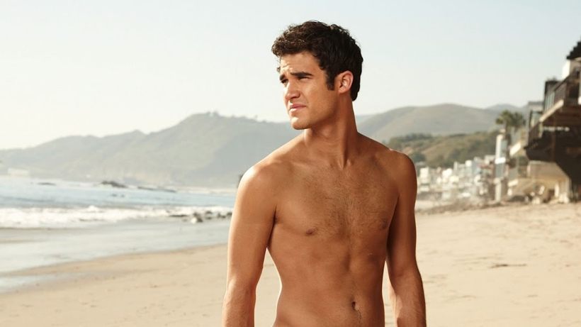 Darren Criss admits he's ready to get naked again on-screen