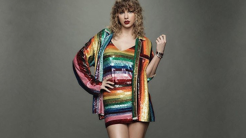 Listen to Taylor Swift deliver a moving speech in support of Pride Month