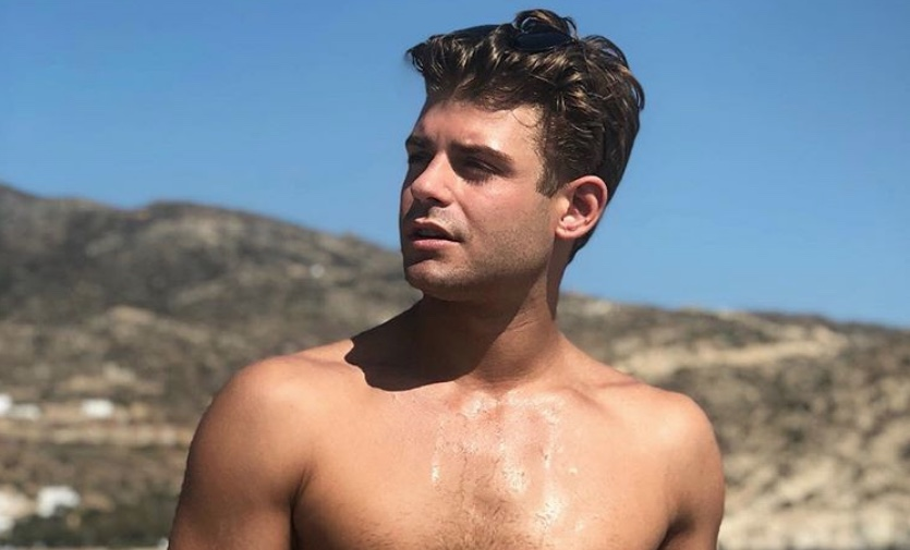 Garrett Clayton announces he's engaged to boyfriend Blake Knight