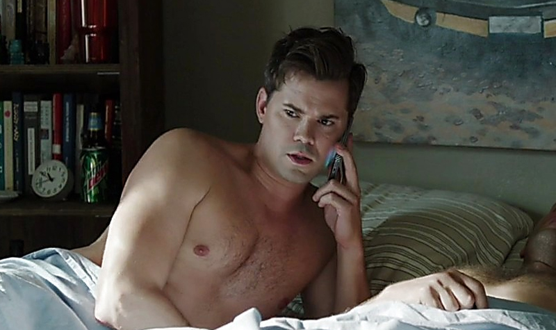 Andrew Rannells warned his mother about the number of d*ck mentions in his new book