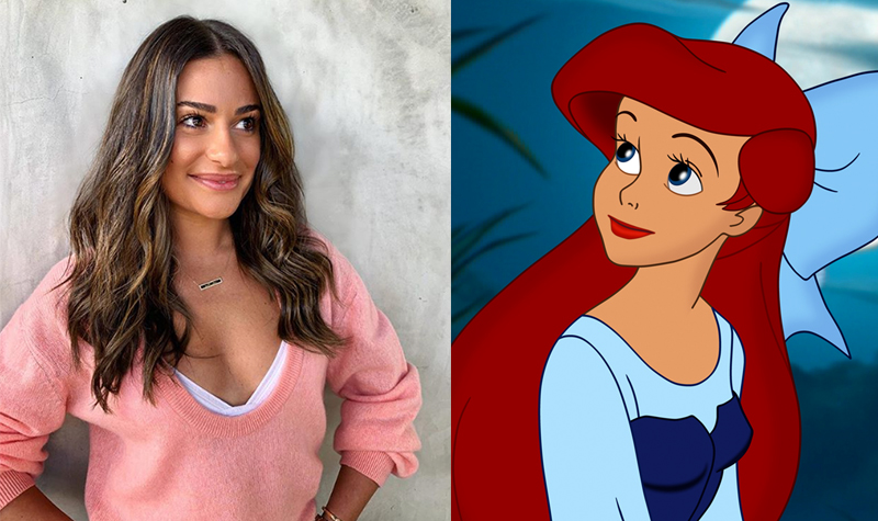 Lea Michele cast as Ariel in live concert of 'The Little Mermaid'
